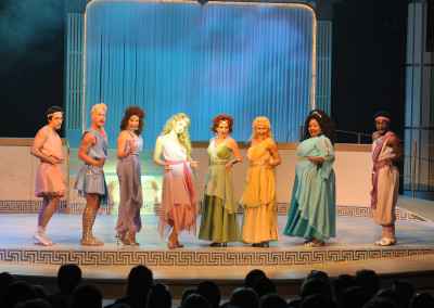 Xanadu, Lyric Theatre, Lyric Theatre of Oklahoma, Costume Rentals, Costumes, Rental