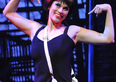Milena Govich in SWEET CHARITY. Photo by Wendy Mutz