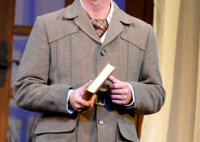 Jeffrey Meek in THE MYSTERY OF IRMA VEP. Photo by Wendy Mutz.